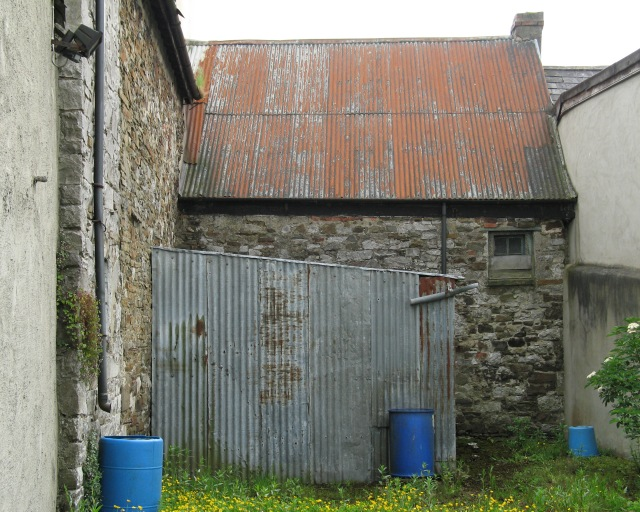 The rear (north) elevation of The Forge, Percival Street, Kanturk, County Cork (2005).