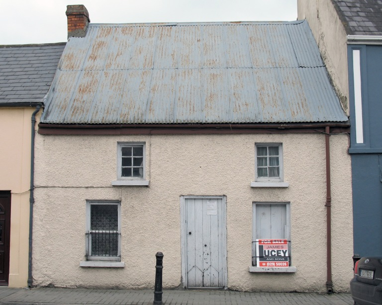The front (south) elevation of The Forge, Percival Street, Kanturk, County Cork (2005).
