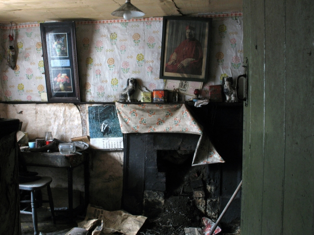 The kitchen viewed from the forge (Digital Photograph: Brian Mac Domhnaill, June 2005).