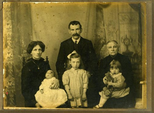 """BFK021: Buckley family portrait """"from Mrs O'Sullivan"""""""