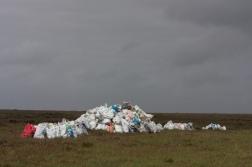 Bags of turf, Tonatanvally II, Brian Mac Domhnaill, 2014